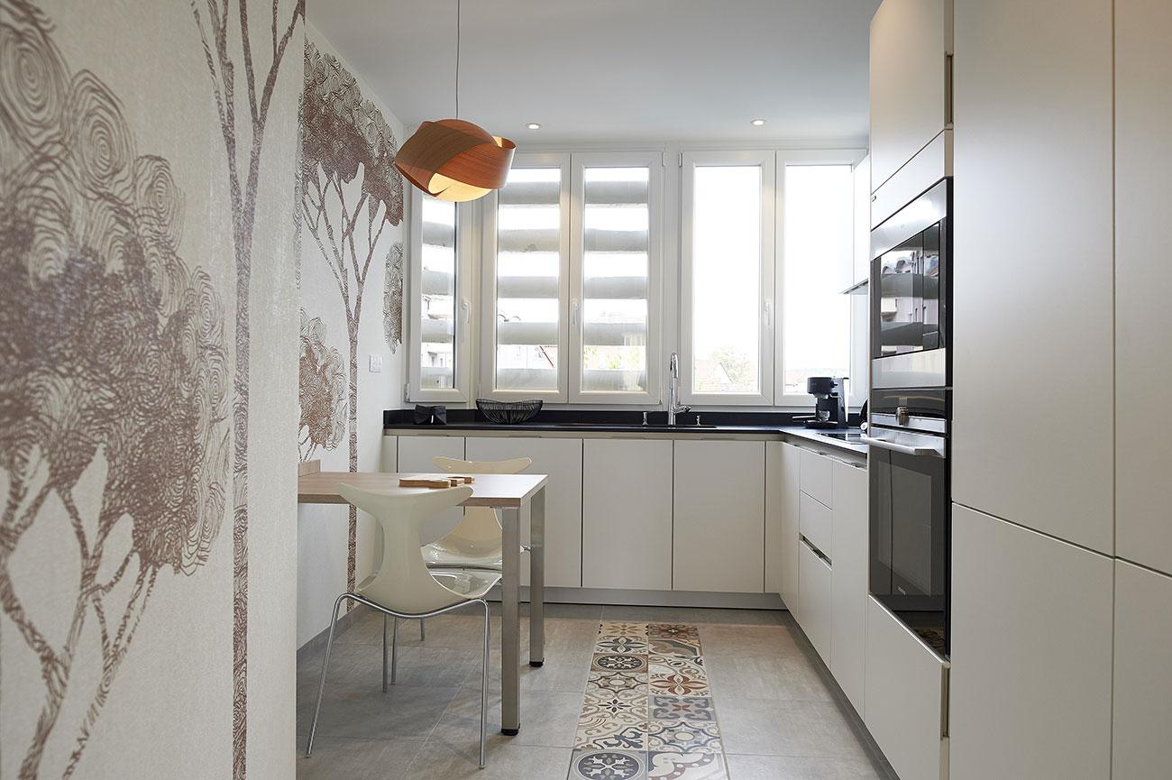 Rénovation, agencement et décoration d'un appartement